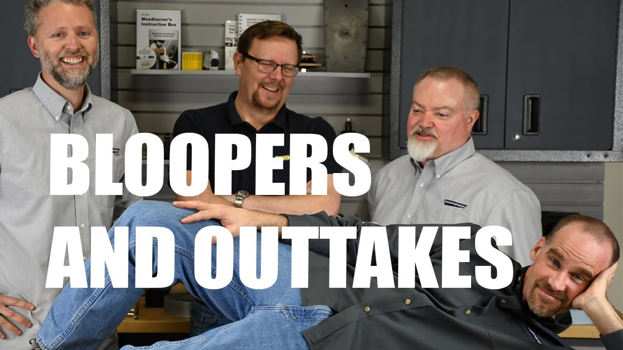 Sharpening Supplies Bloopers Reel with Stig from Tormek