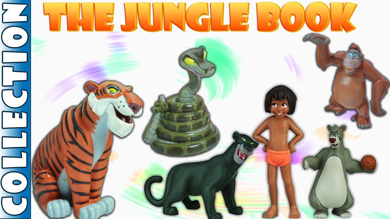 Disney The Jungle Book Collection    Surprise Eggs ...