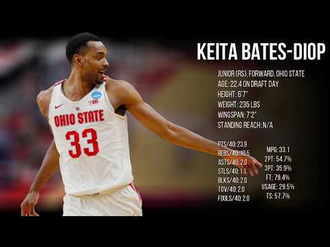 2018 NBA Draft Guide Profile: Keita Bates-Diop