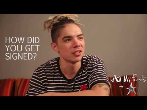 William Singe tells how he got signed to RCA Records