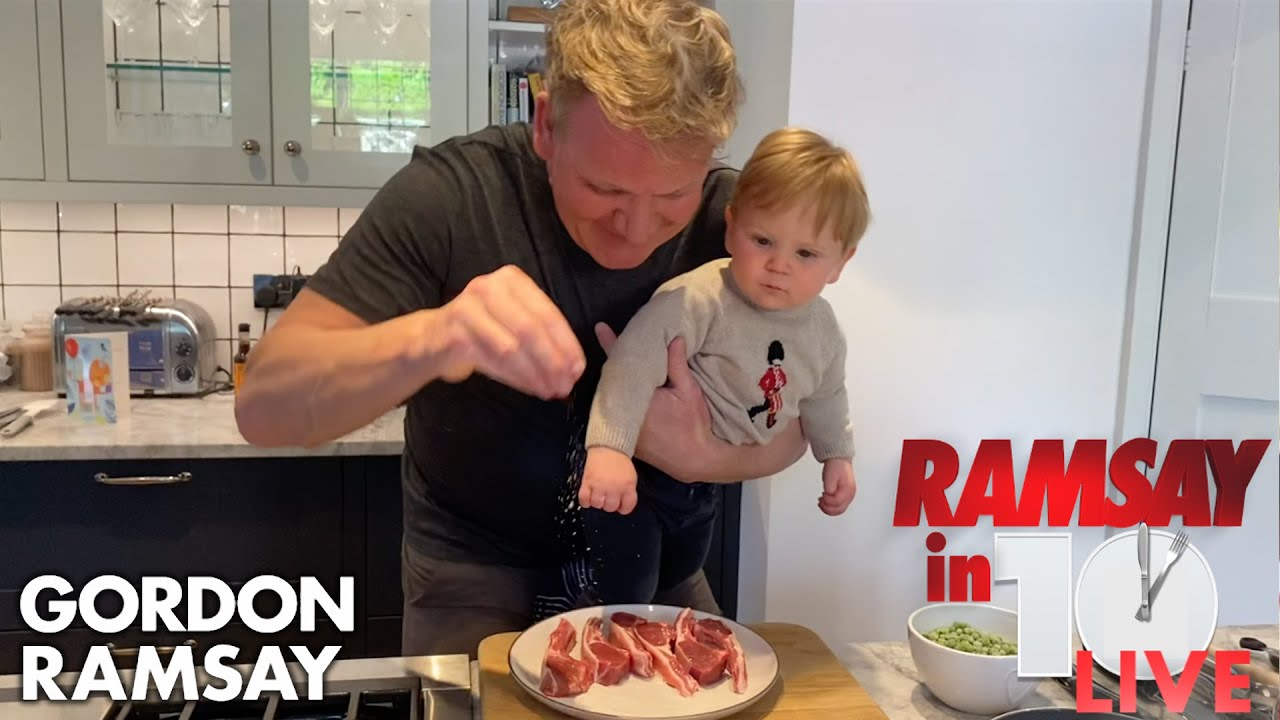 lamb loin chop recipe gordon ramsay Gordon Ramsay Shows How To Make A Lamb Chop Dish At Home  Ramsay in 2