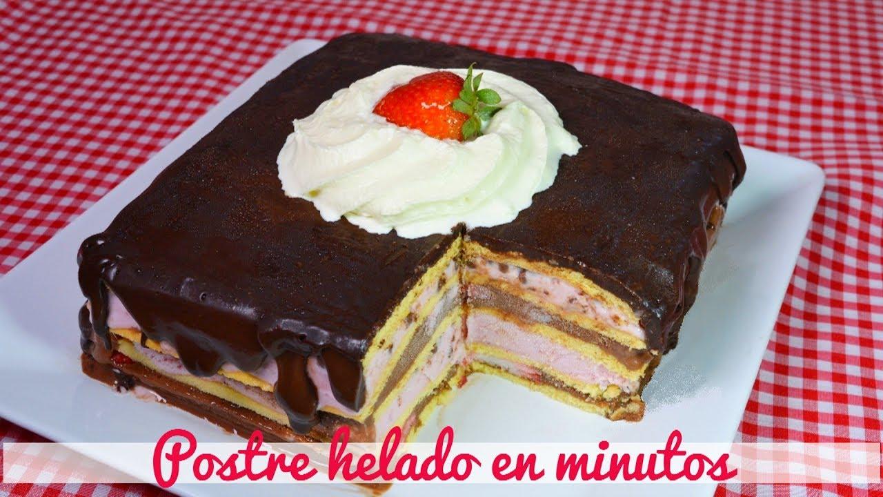 postre recetahelado torta