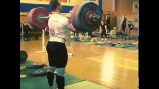 Gennady Muratov 200kg Power Clean & Jerk