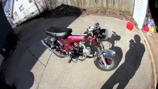 1969 Cafe Racer Honda CT70 Custom