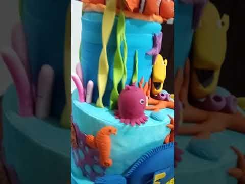 Nemo Theme Cake....