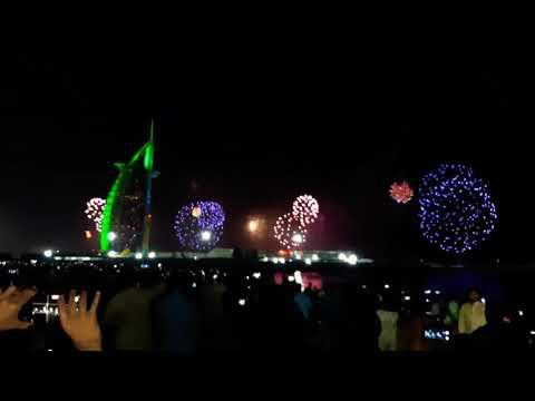 FIREWORKS :-Dubai 2021 New Year