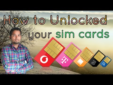 How to get puk code and unblock [unlock] your sim card
