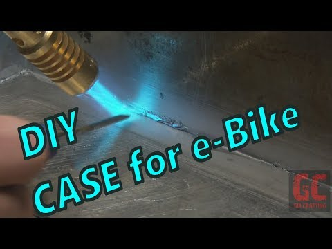 DIY e bike frame case