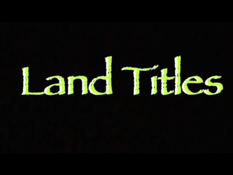Land Titles