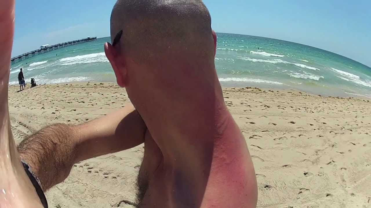 My Experience with a Portuguese Man of War - YouTube