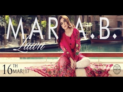 51c10ecfee Maria.B Lawn Collection 2017 Full Catalog With Price - YouTube