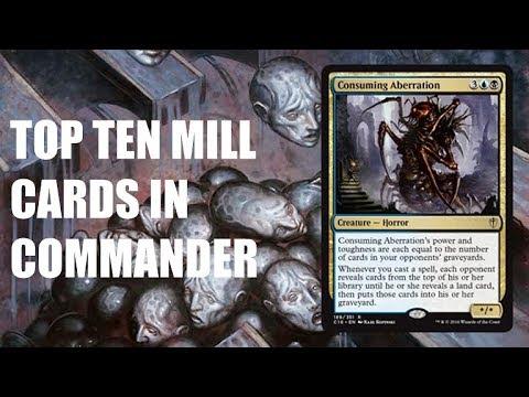 Top Ten MTG: Best Mill Cards in Commander