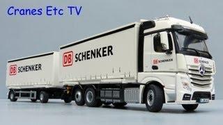 NZG Mercedes Benz FH25 BigSpace Truck + Trailer