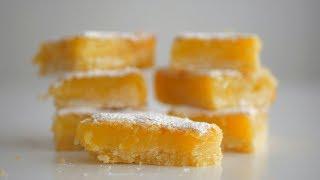 Лимонные квадратики Песочная основа и восхитительный цитрусовый крем