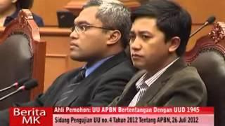 Kwik Kian Gie UU APBNP 2012 Bertentangan dengan Konstitusi
