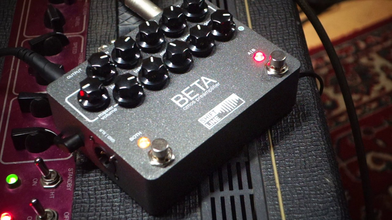 Sunn Beta Preamp By Shift Line Youtube