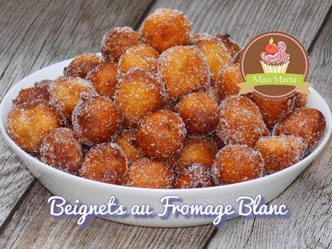 Beignets au Fromage Blanc - Miss Marta