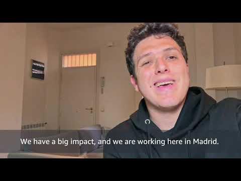 Amazon Madrid Tech Software Development Engineers - Meet Luis