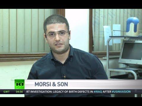 Morsi's son: US fails to defend democracy despite talk in media