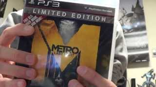 Metro: Last Light Limited Edition Unboxing {PS3}