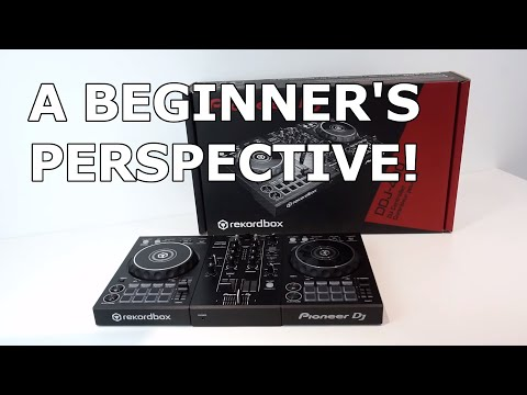 Pioneer DJ DDJ-400 Unboxing/Review - A Beginner's Perspective!