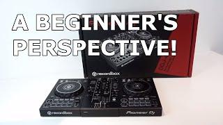 Pioneer DJ DDJ-400 Unboxing/Review - A Beginner's Perspective!