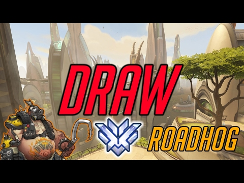 HOOK 2.0 CARRY Forcing the Draw! Harbleu Roadhog Overwatch