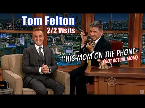 Tom Felton  Genuinely Laugh Inducing Conversations  22 Appearances With Craig Ferguson