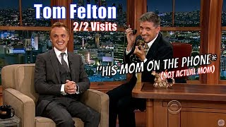 Tom Felton - Genuinely Laugh Inducing Conversations - 2/2 Appearances With Craig Ferguson thumbnail