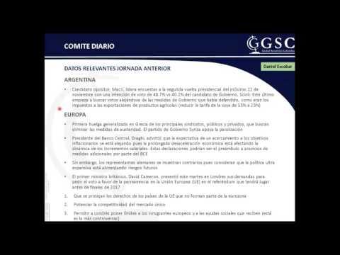 GSC - Comité Diario 12 deNoviembre de 2015