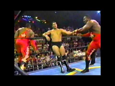 Harlem Heat vs Rick Garcia and Mike Legacy