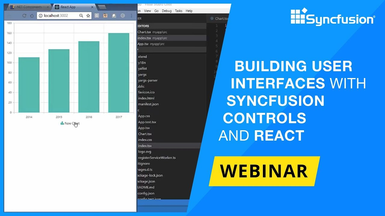 Building UI with Syncfusion Controls and React | Syncfusion Blogs
