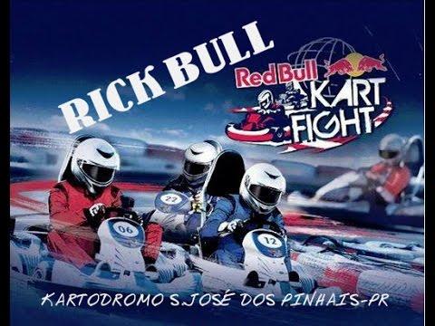 RICK BULL-RED BULL- Qualifying time championship kart fight Brazil-2014