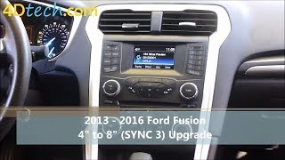 """4"""" to 8"""" Upgrade w/ SYNC 3 