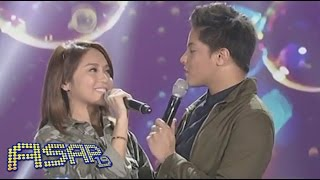 "Kathryn, Daniel sing ""Bubbly"" on ASAP"
