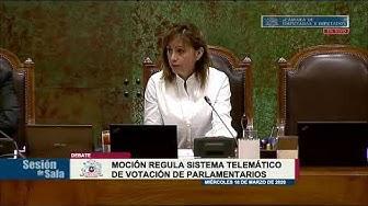 Cámara de Diputados sesiona en Congreso - 18/03/20