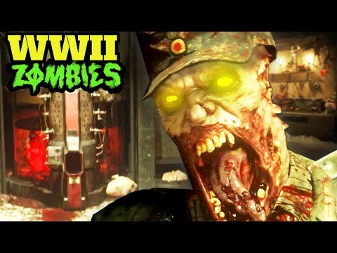 NEW WW2 ZOMBIES IN-GAME FOOTAGE: WALL BUYS, NEW AREAS, SECRET SPOTS & MORE! (COD WW2)