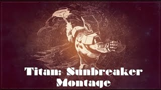 Hammer of Justice: A Destiny PVP Titan Sunbreaker Montage