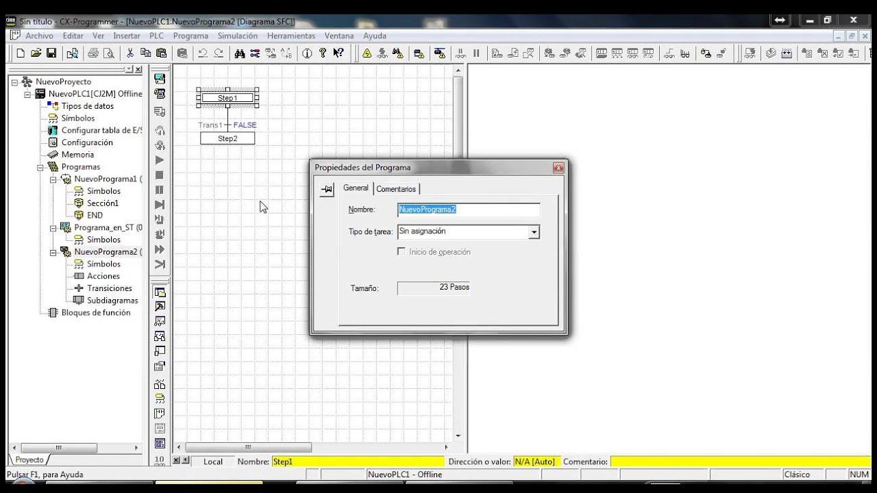 logiciel omron cx-programmer