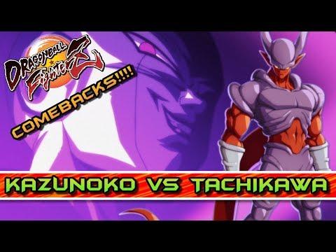 JANEMBA TAMBIÉN HACE COMEBACKS! TACHIKAWA vs KAZUNOKO: DRAGON BALL FIGHTERZ