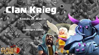 Clan Krieg || come-get-some || Clash of Clans [Deutsch/German]