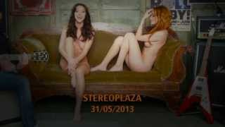 naked and singing. girls from group No Angels