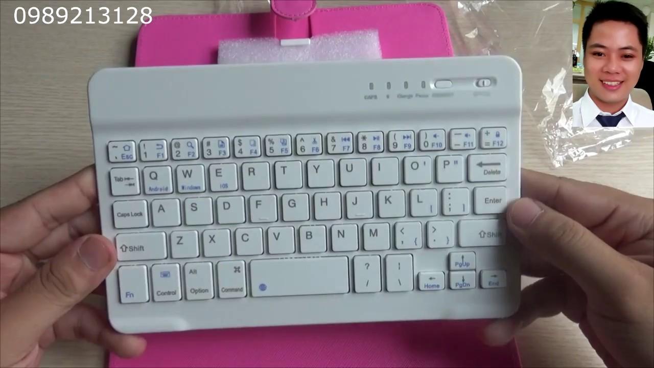 Review bàn phím bluetooth cho điện thoại, máy tính bảng