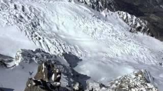 wingsuit bird man mont blanc 2016