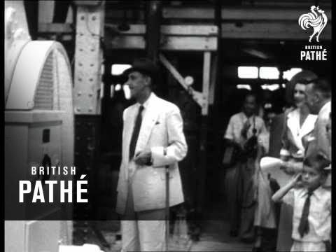 Selected Originals - Malaya -  Templer Opens Factory (1953)
