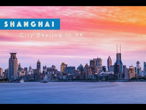 Shanghai City Skyline in 4K