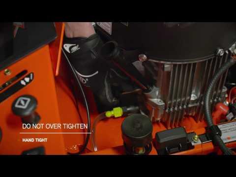 IKON X With Kawasaki Engine Oil Change | Ariens®