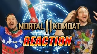 DOODS REACT: Mortal Kombat 11 Reveal & Trailer