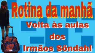 VLOG DE VOLTA ÀS AULAS - ROTINA DA MANHÃ