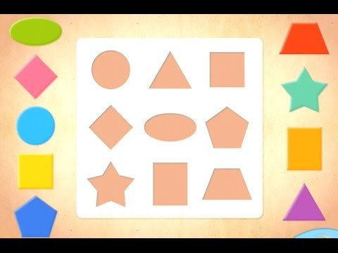 Геометрические фигуры для детей. Геометрические фигуры и ...